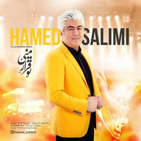 Download Music حامد سلیمی تو قرار منی