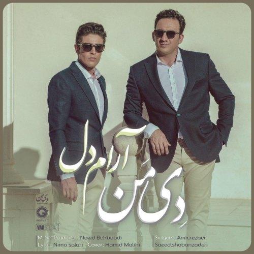 Download Music گروه دی من (امیر رضایی و سعید شعبان زاده) آدام دل