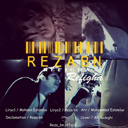 Download Music محمدرضا بادیه نشین(رضا بی ان) رفیقا
