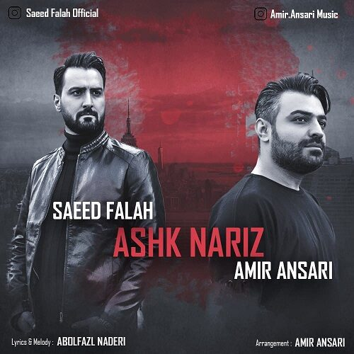 Download Music امیر انصاری و سعید فلاح اشک نریز